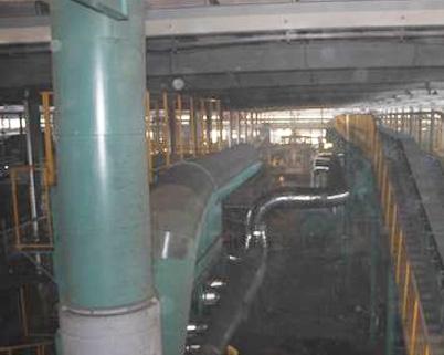 垂直无箱射压造型机及砂处理系统